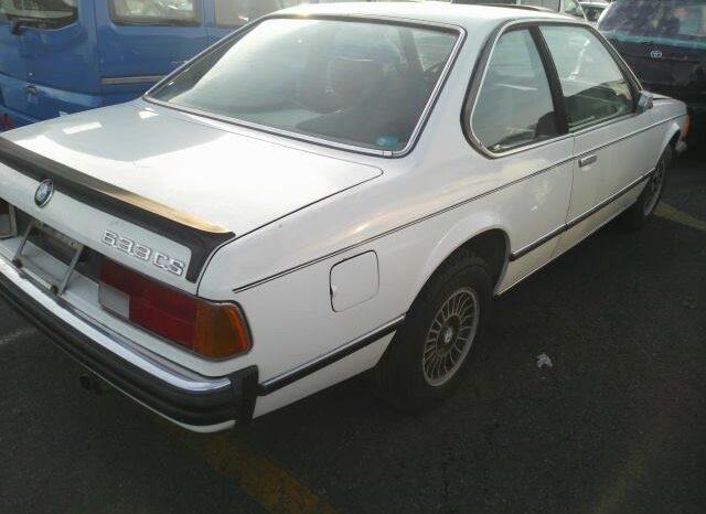 BMW E24 633CSi Karmann Japan full