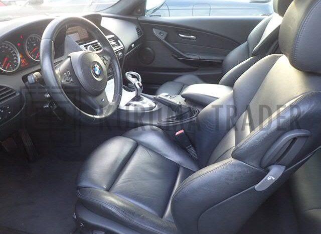 BMW E63 M6 65,800km full