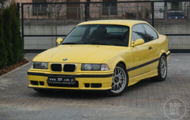 BMW E36 M3 3,2L 6MT Dakargelb