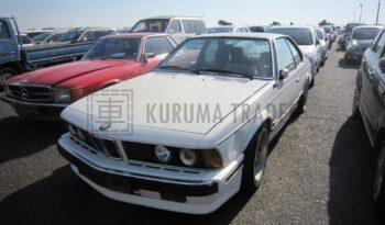 BMW E24 635CSi Highline 86,000km full