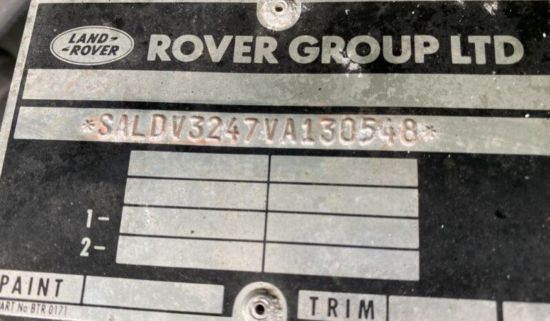 LAND ROVER DEFENDER 90 full